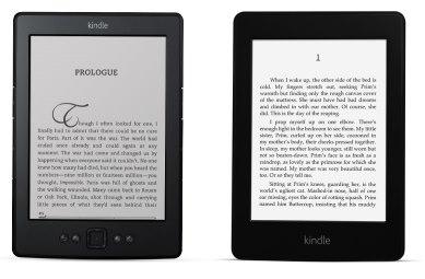 De Kindle en de Kindle Paperwhite